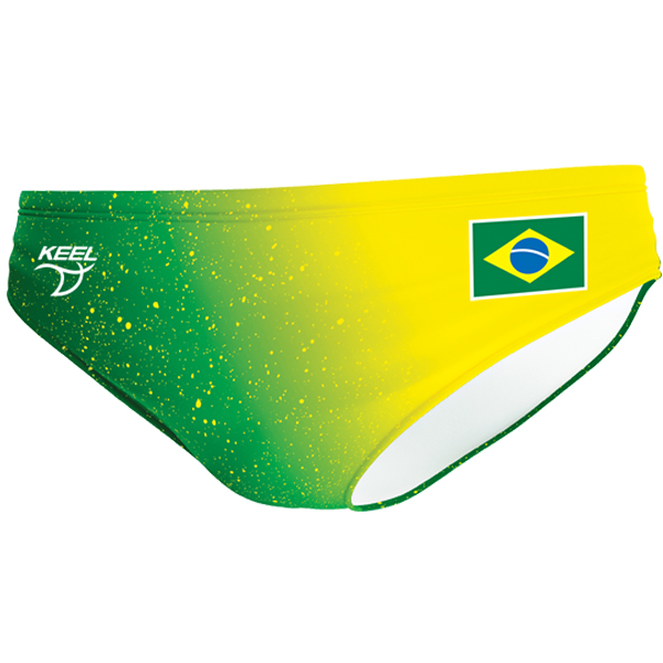 Brazil water polo trunk