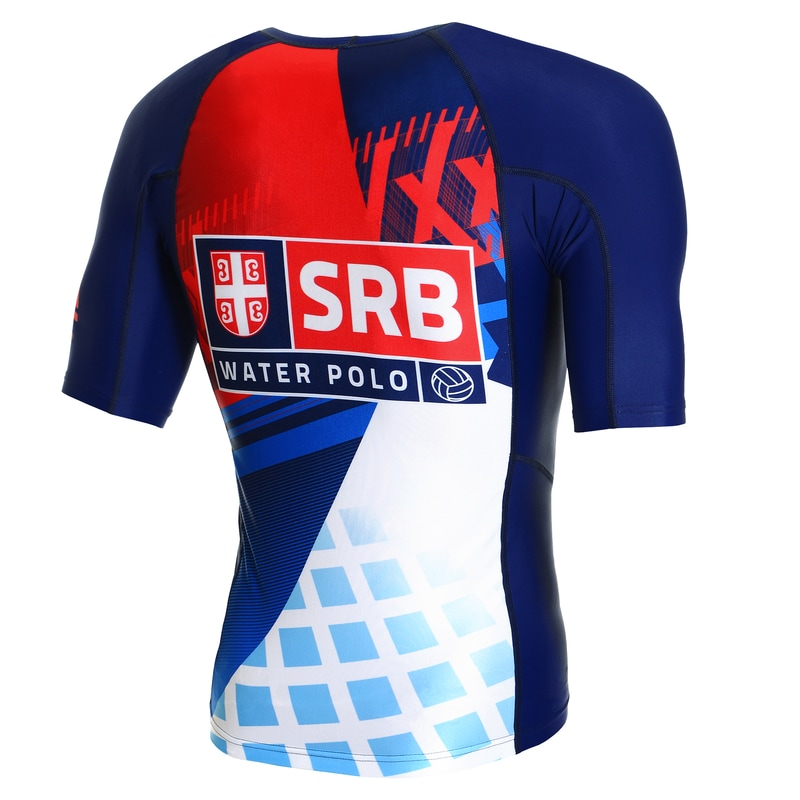 Anti UV T-shirt Serbia - Official